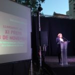 Ada Colau dirigeix unes paraules