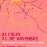 Lliurament del XI Premi 25 de Novembre