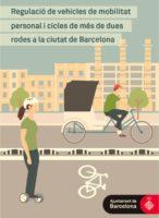 """Informadors circulació bicicletes: """"les voreres són per als vianants""""."""