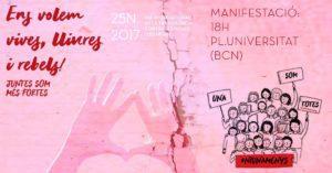 Dia internacional de la no violència vers les dones 2017
